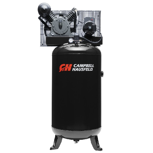 Campbell Hausfeld Air Compressor, 80-Gallon Vertical Two-Stage 14CFM 5.5 HP 208-230V 1PH (CE3000) product image center