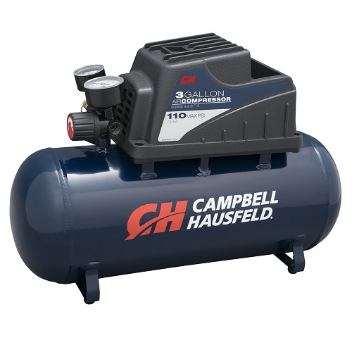 Campbell Hausfeld Air Compressor, 3-Gallon, Horizontal (DC030000) product image right