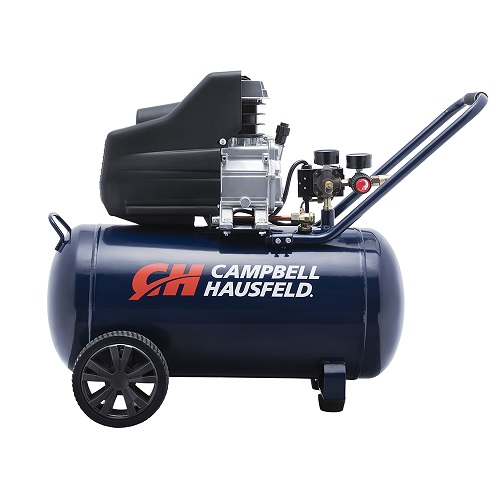 Campbell Hausfeld Air Compressor, 13-Gallon Horizontal Oil-Lubricated 3.8 CFM 1.3HP 120V 10A (DC130000) product image center