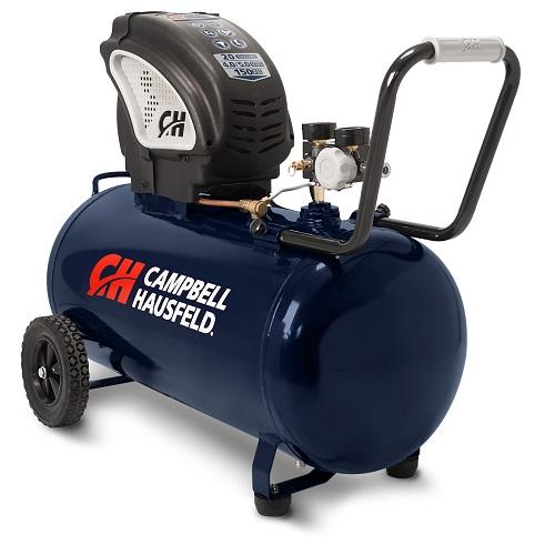 air compressor 20 gallon horizontal compressor campbell hausfeld