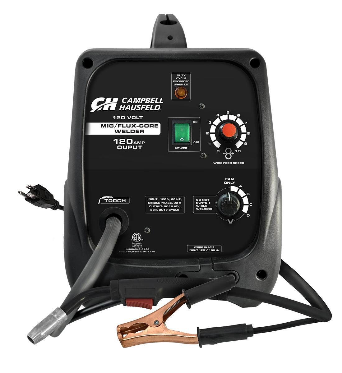 Mig Flux Core Welder 120 Amps With Accessories Dw313000 Parts Cored