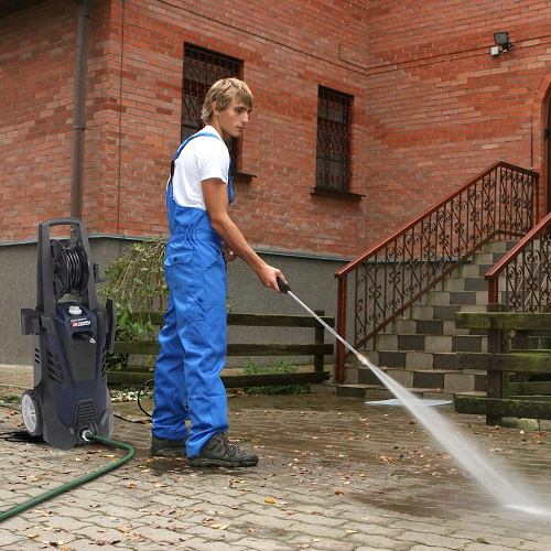 Electric Pressure Washer, 2000 Max PSI, 1.75 GPM (PW190200) application shot yard
