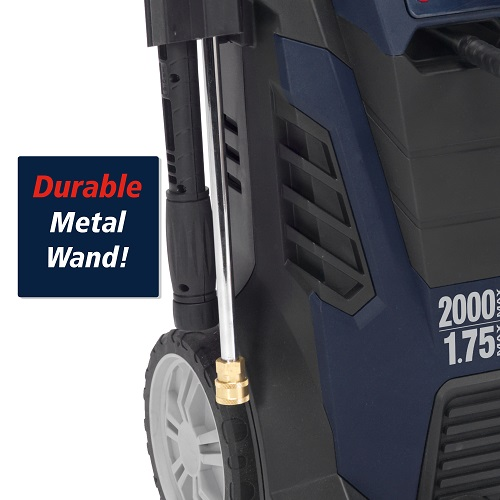 Electric Pressure Washer, 2000 Max PSI, 1.75 GPM (PW190200) callout wand