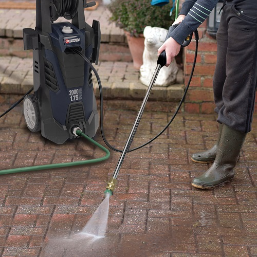 Electric Pressure Washer, 2000 Max PSI, 1.75 GPM (PW190200) application shot deck