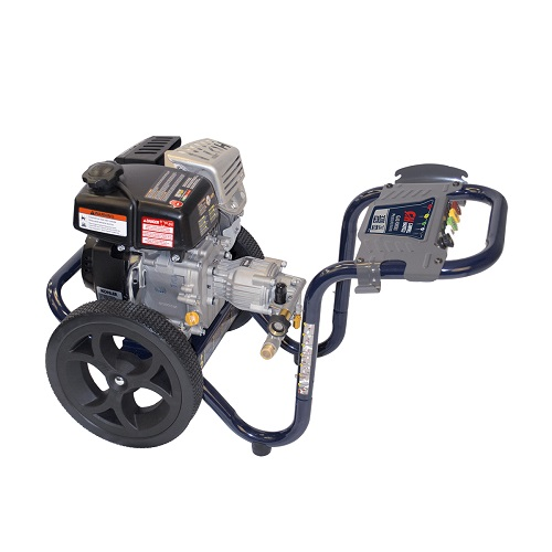 Gas Powered Pressure Washer, 3200 PSI, 2.4 GPM, Axial Pump, Kohler RH265 (PW320200) product image side angle