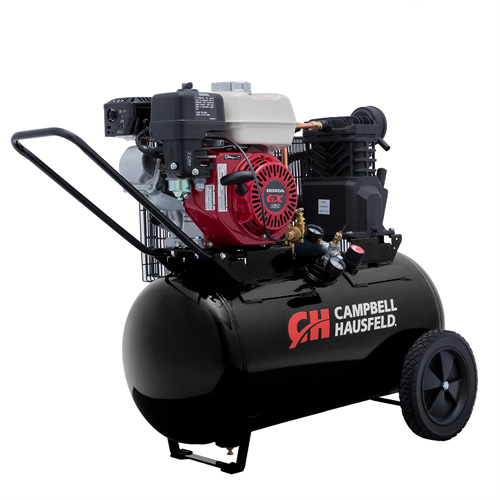 Campbell Hausfeld Air Compressor, 20-Gallon Horizontal Portable Single-Stage 10.2CFM GX160 Honda (VT6171X) product image right