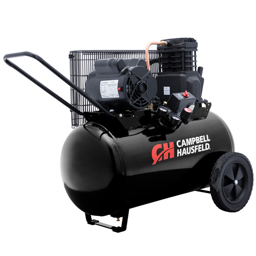 Campbell Hausfeld Air Compressor, 20-Gallon Horizontal Portable Single-Stage 5.5CFM 2HP 120/240V 1PH (VT6183) product image right