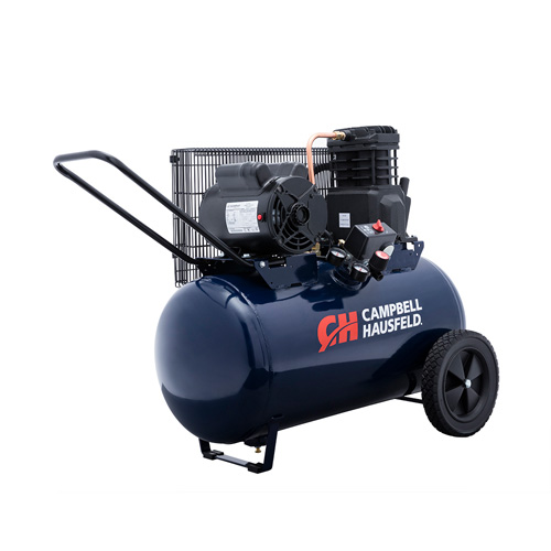Campbell Hausfeld Air Compressor, 20-Gallon Horizontal Portable Single-Stage 5.5CFM 2HP 120/240V 1PH (VT6290) product image right