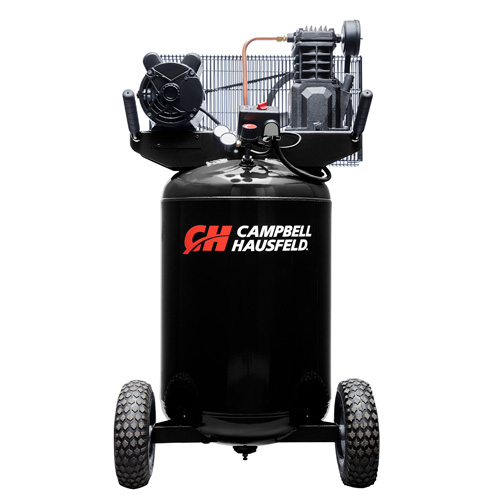 Campbell Hausfeld Air Compressor, 30-Gallon Vertical Portable Single-Stage 5.5CFM 2HP 120/240V 1PH (VT6367) product image center