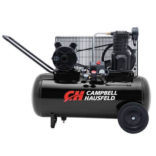 Campbell Hausfeld Air Compressor, 15-Gallon Horizontal Portable Single-Stage 5.5CFM 2HP 120/240V 1PH (VX4002) product image center