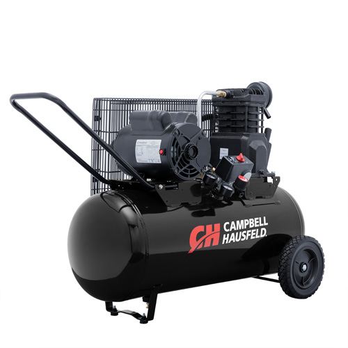 Campbell Hausfeld Air Compressor, 15-Gallon Horizontal Portable Single-Stage 5.5CFM 2HP 120/240V 1PH (VX4002) product image left