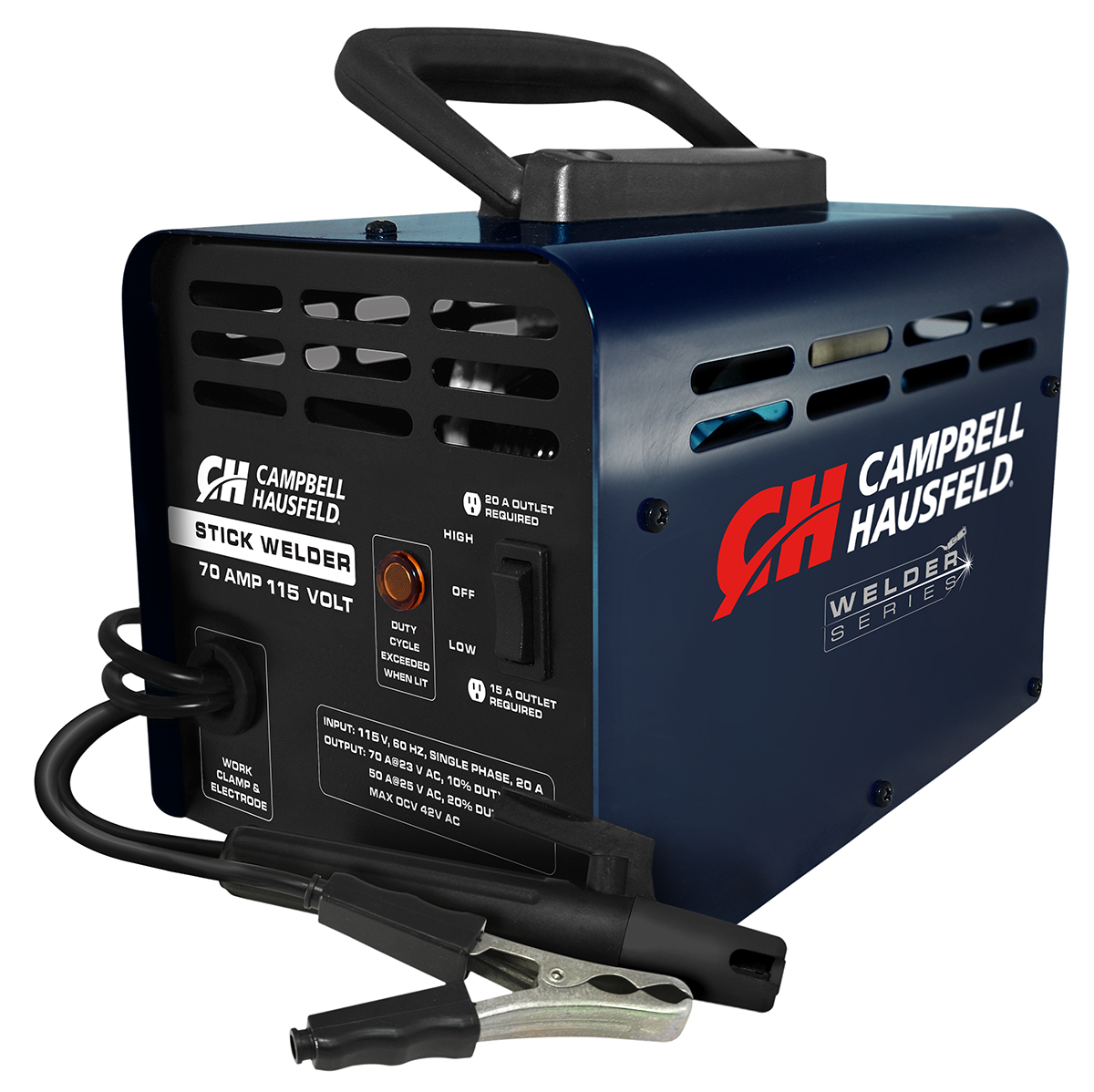 Campbell Hausfeld 115V Arc/Stick Welder (WS099001AV) product image center