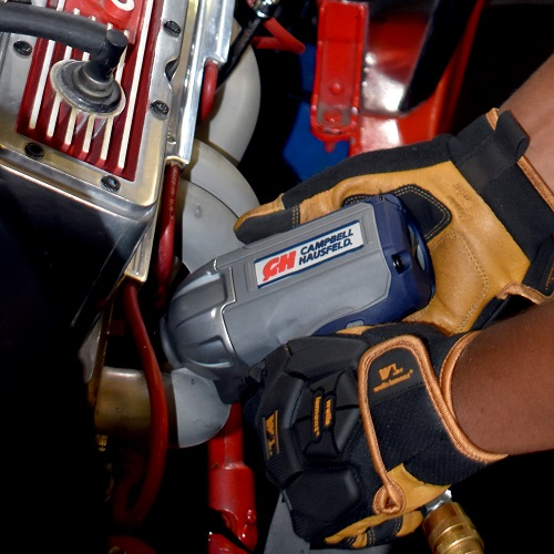 "Get Stuff Done 3/8"" Impact Wrench, Twin Hammer, Campbell Hausfeld, XT001000, car application 1"
