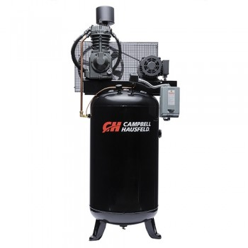 Campbell Hausfeld Air Compressor, 80-Gallon Vertical Two-Stage 25CFM 7.5HP 208-230V 1PH (CE7000) product image center