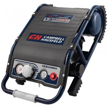 Air Compressor, Lightweight 1.3 Gallon Suitcase, Quiet (DC010500), product image front