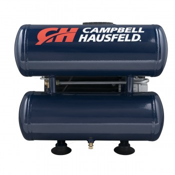 Campbell Hausfeld Air Compressor, 4-Gallon Twinstack Oil-Lubricated 3.7 CFM 1.8HP 120V 14A (DC040000) product image center