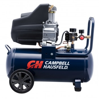 Campbell Hausfeld Air Compressor, 8-Gallon Horizontal Oilless 3.7 CFM 1.3HP 120V 10A (DC080100) product image center