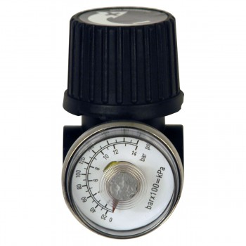Campbell Hausfeld 1/4-Inch Regulator and Gauge (GR001700AJ) product image center