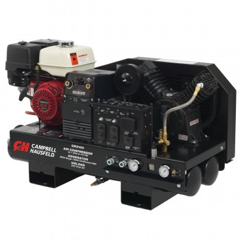 Combination Unit, 10-Gallon 14CFM Compressor 5000W Generator 180A Welder GX390 Honda (GR3100)