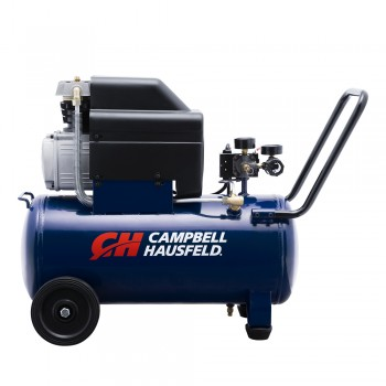 Campbell Hausfeld Air Compressor, 8-Gallon Horizontal Oil-Lubricated 3.7CFM 1.3HP 120V 10A 1PH (HL540100AV) product image center