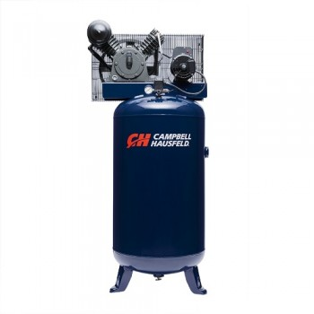 Air Compressor, 80 Gallon Vertical Two Stage 14CFM 5HP 208-230V 1PH (HS5180)