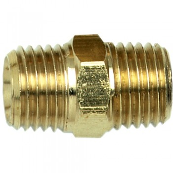 "Campbell Hausfeld 1/4"" Hex Nipple Male NPT (MP211800AV) product image center"