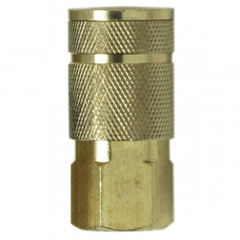 "Campbell Hausfeld 1/4"" Auto Coupler 1/4"" Female (MP323600AV) product image center"