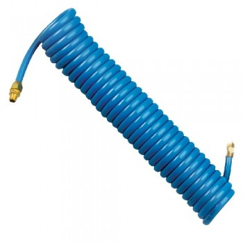 "Campbell Hausfeld 25"" PU Recoil Hose (MP515200AV) product image center"