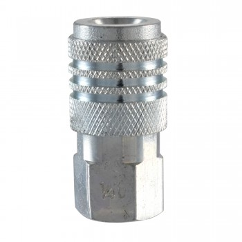 "Campbell Hausfeld 1/4"" Universal Steel Coupler (1/4"" Female NPT) (MP602500AV) product image center"