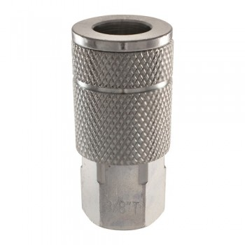"Campbell Hausfeld 3/8"" Automotive Steel Coupler (1/4"" Female NPT) (MP603100AV) product image top"