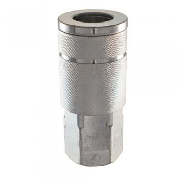 "3/8"" Automotive Steel Coupler (3/8"" Female NPT) (MP603300AV)"