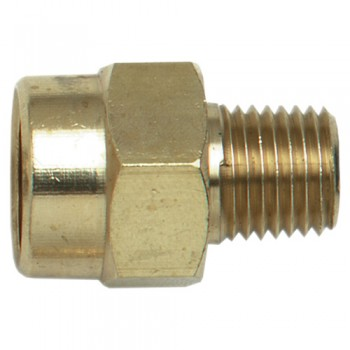 "Campbell Hausfeld 3/8"" Female NPT-1/4"" Male NPT Adapter (PA111400AV) product image center"