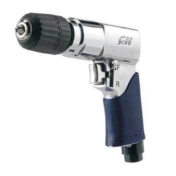 "Campbell Hausfeld 3/8"" Air Drill Reversible Keyless Chuck (TL054500AV) product image right angle"