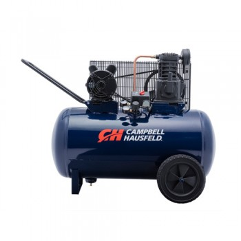 Campbell Hausfeld Air Compressor, 30-Gallon Horizontal Portable Single-Stage 10.2CFM 3.7HP 208-230V 1PH (VT6271) product image center