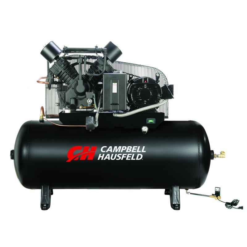 Air Compressor 120 Gallon 2 Stage Campbell Hausfeld Ce8007