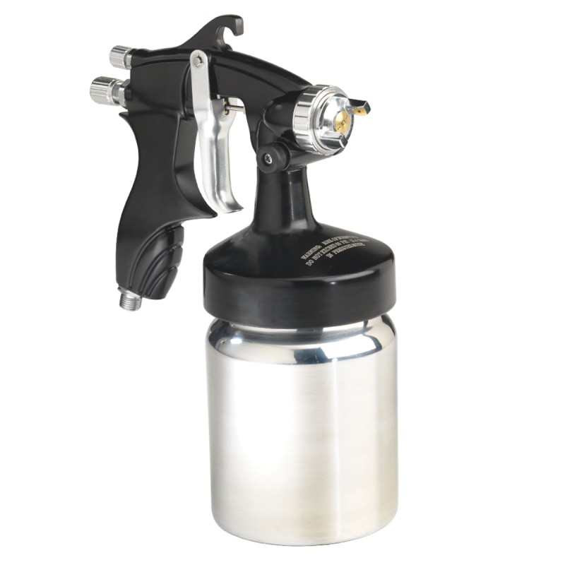 Campbell Hausfeld Spray Gun, Heavy Duty with 1-Quart Canister (DH530001AV) product image center