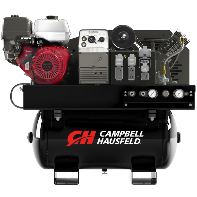 air compressor generator welder 30 gallon campbell hausfeld gr3200