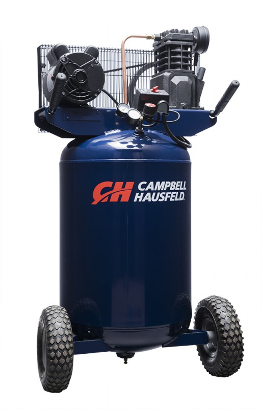 Air Compressor, 30-Gallon Vertical Portable Single-Stage 5.5CFM 2HP 120/240V 1PH (VT6358)